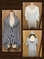 美品☆今期購入☆授乳服2枚+授乳ケープ☆セット売り Mサイズ