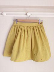 バーバリーブルーレーベル BURBERRY ◆美品◆ ウエストギャザースカート♪