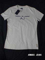 □ARMANI JEANS/アルマーニジーンズ ロゴ 半袖 Tシャツ/メンズ☆新品