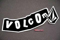 USA非売品★ボルコム激レア!プロステッカー超特大92cm×28cm TEAM VOLCOM