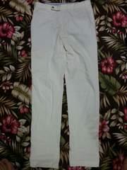 ★Simplicite plus★ホワイトパンツ サイズ44