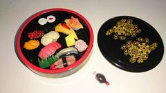 ぷちサンプルbookに付いていたお寿司