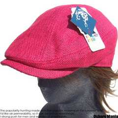 帽子♪ジュート*JUTE*ハンチング*ピンク*麻