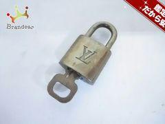 ルイヴィトン 小物 パドロック R10000 ゴールド 真鍮