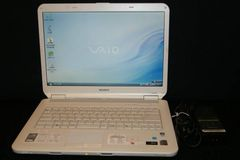 SONY  VGN-NS50B VAIO�@Core2Duo 2.26GHz 2GB�@���J�o���[��