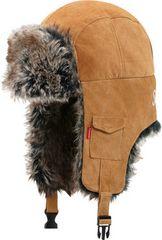 11F/W Supreme Suede Trooper Hat Camel �X�G�[�h�{���o�[����
