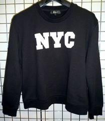 NYCスウェット BLACK 黒