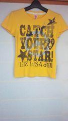 LIZ LISA 半袖 黄色 フリーサイズ Tシャツ リズリサ N2m