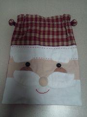サンタクロース ハンドメイド巾着袋