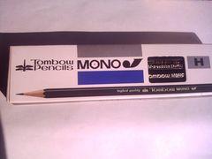 トンボ MONO J 鉛筆 H 12本★未使用