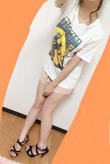 ★女の子には少し大きめのTシャツ★