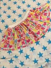 RONI☆カラフルロゴ総柄シフォンスカート☆SS