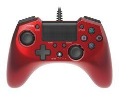 新品即決 ホリパッドFPSプラス for PS4 レッド コントローラ 送料無料