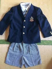 卒園、入学式 男児 スーツセット 120