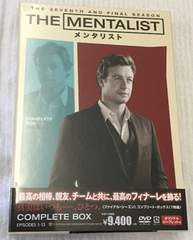 THE MENTALIST/�����^���X�g �t�@�C�i���E�V�[�Y�� DVDBOX