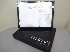 未使用!INDIVI/インディビィ/真珠糸/ラメ/ウォッシュタオル等2枚