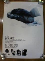Blue メビウスMOBIUS 告知ポスター