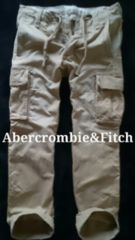 【Abercrombie&Fitch】最高峰 Vintage  ミリタリーカーゴパンツ 30/Khaki