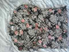 和柄 花柄 カラクリ 長袖シャツ
