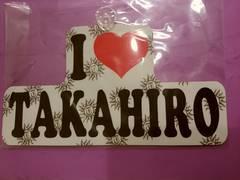EXILE TAKAHIROカーサイン