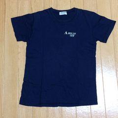 ブランド ANT HOUSE ネイビー 半袖Tシャツ バックプリント 150