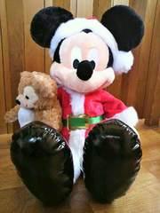 WDW*ミッキー&ダッフィーぬいぐるみ*クリスマスホリデー*2013