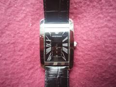 ☆スモセコ☆【EMPORIOARMANI/エンポリオアルマーニ】腕時計 停止しました