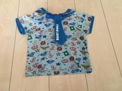 BABY DOLL♪セーラー風/半袖Tシャツ90