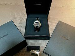 CHANEL �V���l�� J12 H1626  38mm  �_�C�������h