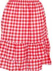 新品シェファードチェックオーバースカート