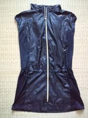 ナイキ ウインドチュニック ブラック Sサイズ