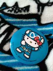関ジャニ∞  8EST缶バッチ キティレンジャー安田章大くんブルー