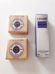 ロクシタン ◆新品未使用◆ ラベンダーハンドクリーム+石鹸2個セット ♪