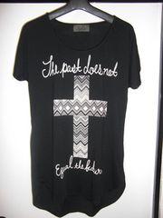 SpRay 十字架ネイティブTシャツ