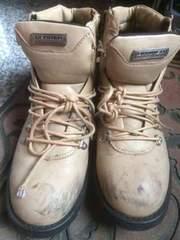 中古 ブーツ ベージュ Lサイズ