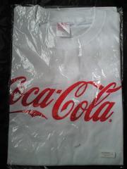 コカコーラ コカ・コーラ ロゴ入り オリジナル Tシャツ ホワイト Lサイズ スペンサー