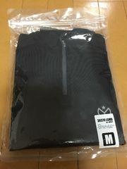 新品未使用!ロングスリープジップアップシャツ黒
