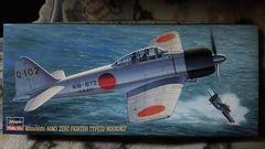 "ハセガワ1/72  日本海軍   零式艦上戦闘機 32型  ""報国"""