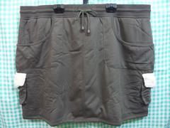 ◆新品◆大きいサイズ◆裏ボア カーゴスカート KH◆6Lサイズ◆