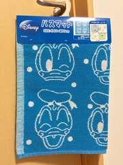 新品☆ドナルドダック☆ドット柄バスマット水玉Disneyディズニー