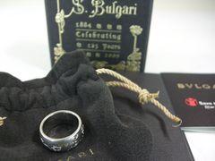 美品ブルガリ リング指輪 シルバー