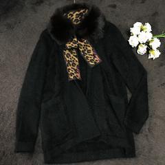 新品未使用Nanette Leporeアンゴラ暖かくお洒落ニットジャケット