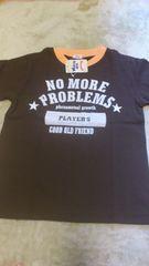 新品☆120�p・茶系半袖Tシャツ