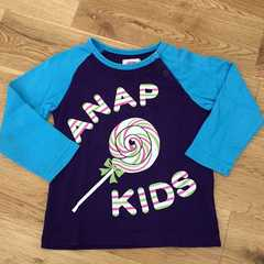 102/ANAP kids ラグランT 90