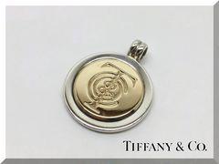 TIFFANY&Co.☆ティファニー SV/K18YGペンダントトップ