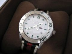 □GUCCI/グッチ  スポーツ キャンバスベルト 腕時計/時計☆メンズ
