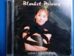 中山美穂 Blanket PRIVACY