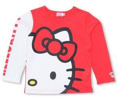 新品BABYDOLL☆ハローキティ フェイス ロンT 120 Tシャツ ベビードール