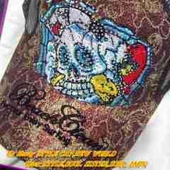 TATOO柄刺繍デザイン!存在感抜群卍鬼人気
