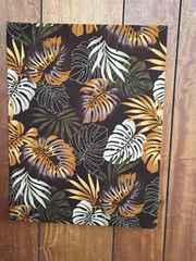 素敵なハワイアン生地の木製ファブリックパネル♪♪
